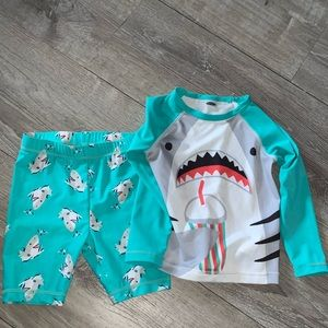 ‼️SALE‼️ Old Navy baby matching swimsuit